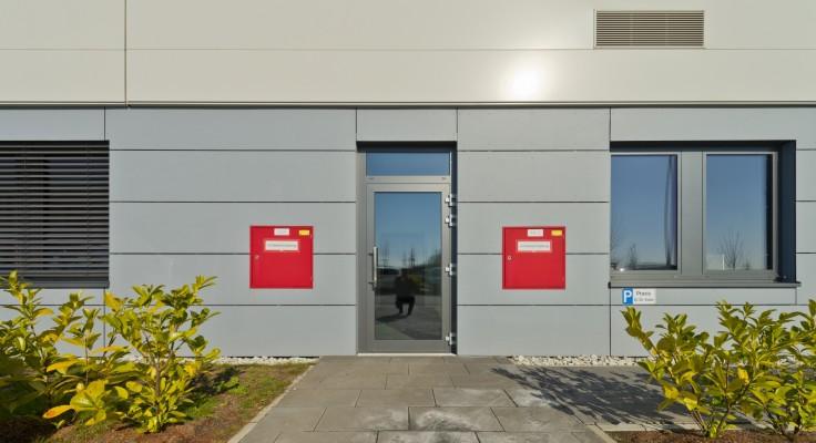mbb Weimar · Fassaden-Referenz Facharztzentrum (Foto © Michael Miltzow)